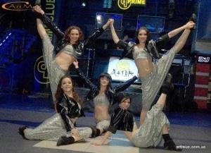 Luna - танцевальная студия, шоу-балет на праздники, свадьбы в Киеве