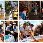Проведение корпоративного праздника в Киеве, организованного на корабле с выходом на остров
