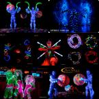 Неоновые, диодные, пиксельные, LED, световые шоу в Киеве на свадьбу, корпоратив, юбилей, праздники